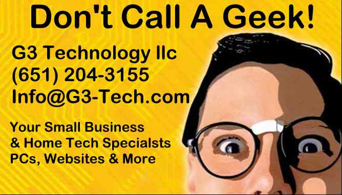 G3 Technology llc (651) 204-3155
